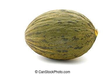 Piel de Sapo Melon on White Background