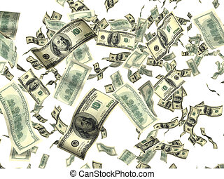 pieniądze, biały