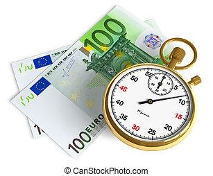 pieniądze, czas