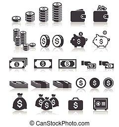 pieniądze, ikona