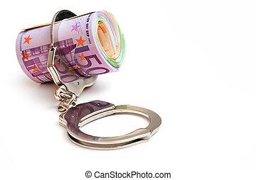 pieniądze, kajdany