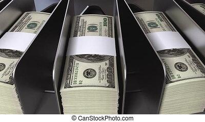 pieniądze, konwejer