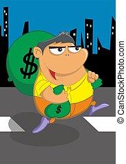 pieniądze, kradzież