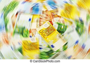 pieniądze, laundering., euro, europejska waluta
