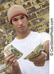 pieniądze obsadzają