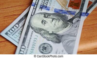 pieniądze, odliczający, video, ultrahd