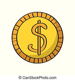 pieniądze, pieniądz, ikona