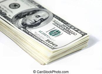 pieniądze, stóg