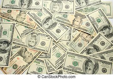 pieniądze, tło.