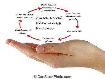 pieniężny planistyczny, proces