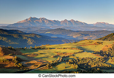 Pieniny and Tatras in Slovakia