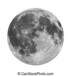 pieno, isolato, luna