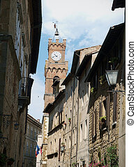 Pienza - a city with a delicious cheese and  a rare example of Renaissance town design.