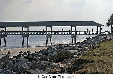 Pier at Dusk