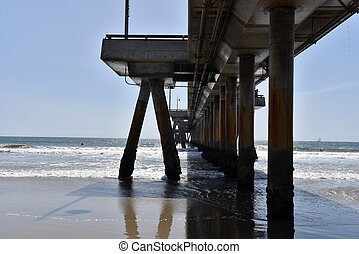 Pier at the beach