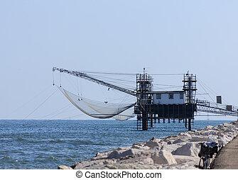 Pier Fishing Net