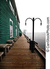 Pier in Halifax, Nova Scotia