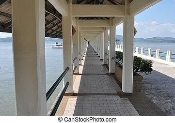 pier in Ranong