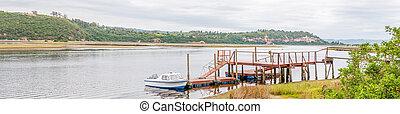Pier in the Knysna Lagoon