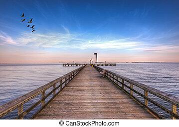Pier into the Chesapeake