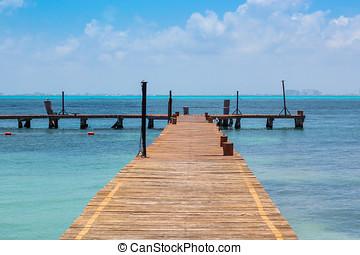 Pier - Isla Mujeres - Cancun