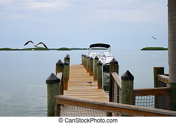 Pier on the bay