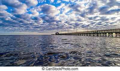 Biloxi Lighthouse Pier Biloxi Mississippi Usa At Lighthouse Pier