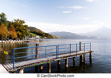 Pier on the lake