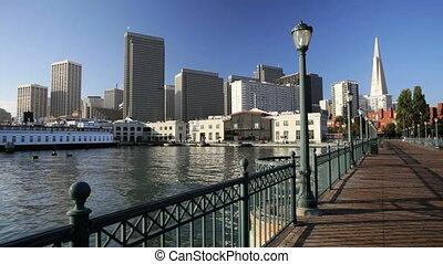 Pier One Promenade - San Francisco promenade