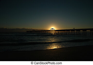 Pier Sunrise 5