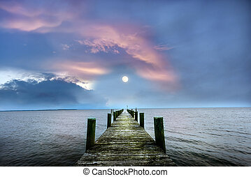 Pier to the Moon