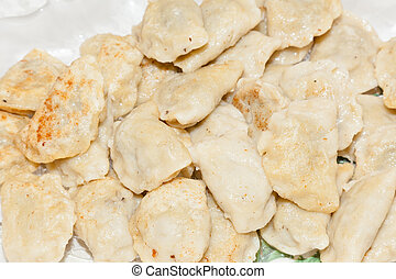 Pierogi are served in a variety of forms and tastes (ranging...