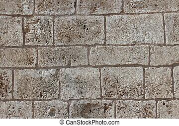 pierre, église, wall.