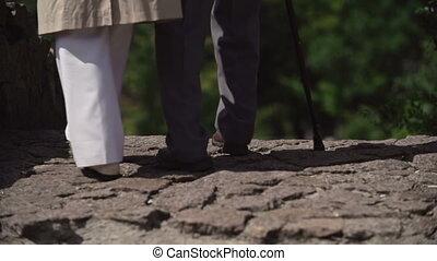 pierre, avenir, marcher