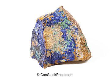 pierre bleue, malachite