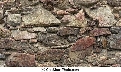 pierre, château, wall., arrière-plan., vieux, texture, mur