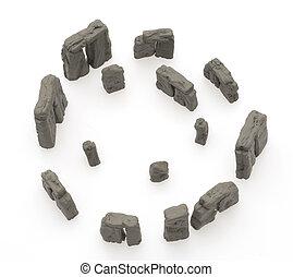 pierre, copie exacte, henge