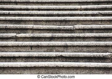 pierre, escalier