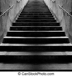 pierre, escalier, vendange, brun