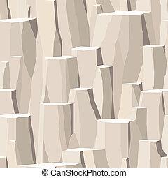 pierre, falaise, pelé, seamless, surface, rocher, rugueux