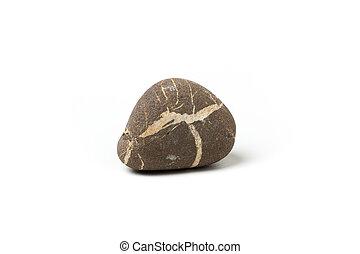 pierre, fond blanc