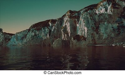 pierre, littoral, falaise, portugal