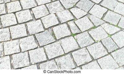 pierre, pavage, texture.