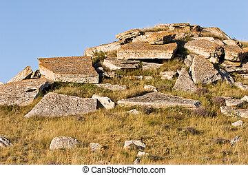 pierre, paysage