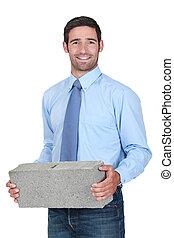 pierre, porter, ingénieur