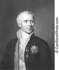 Pierre Simon Laplace (1749-1827) on engraving from the...