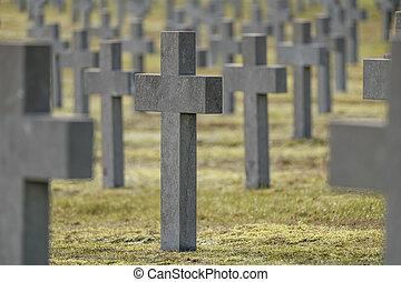 pierre tombale, soldat, monument, vide, inconnu