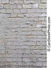 pierre, travertin, mur, briques, adarce, blanc