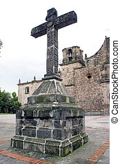 pierre, tribunal, croix, templ