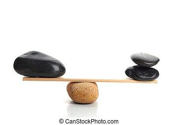 pierre, zen, balances